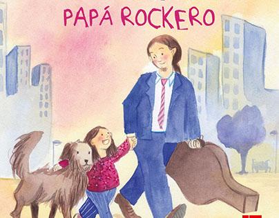 """Autora e ilustradora """"Papá Rockero"""", Editorial SM, 2015"""