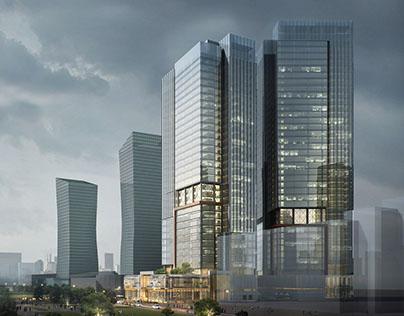 Nurzhol Towers/ Astana