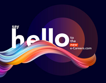 Web + social banners for e-Careers