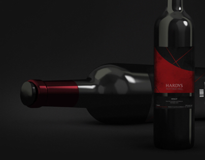 Hardys / Wine Label Revamp