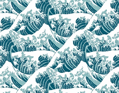 Japanese Art Inspired Patterns