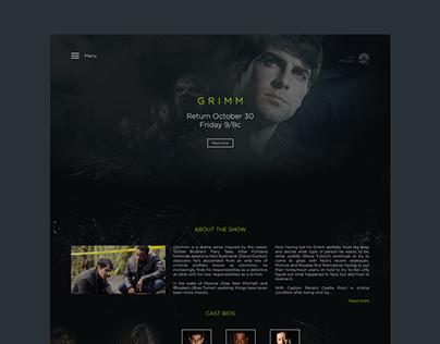 Grimm – Site concept