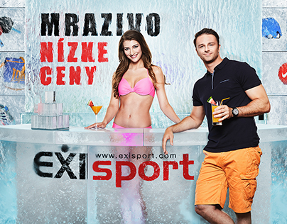 3D Photo Montage Project: Exisport Ice Bar