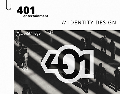 401 Entertainment (Identity Design)