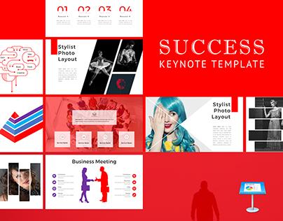 Success Keynote Template