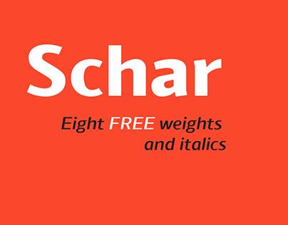 Schar - FREE Type Family