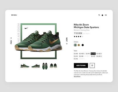 E-comerce product page exploration.
