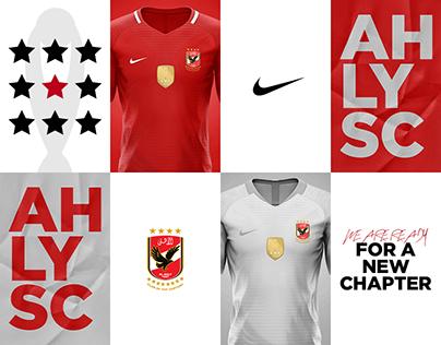 Al Ahly SC - 2020/21 Nike Concept Football Jersey