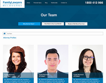 ifamily lawyers web design
