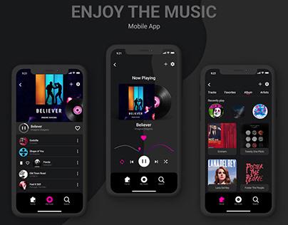 Music Player iOS / UX UI Design