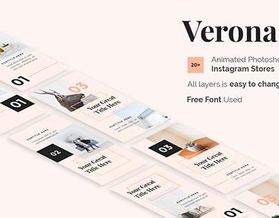 Verona Free Creative Instagram Stories Template