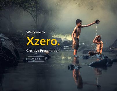 Xzero - Creative Powerpoint Template UPDATE VERSION 2.0