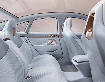 BMW i4 Concept 2020, Parametric 3D Pattern Modelling