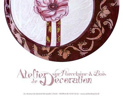 Atelier de Décoration sur Porcelaine & Bois