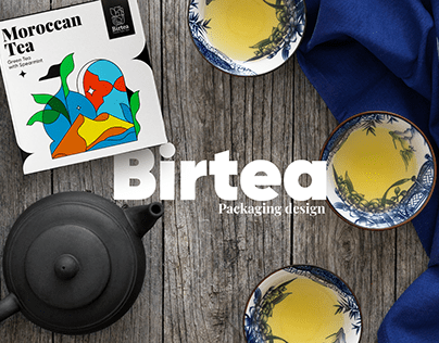 Birtea. Package Design