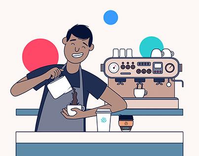 Illustrations - Empire Coffee