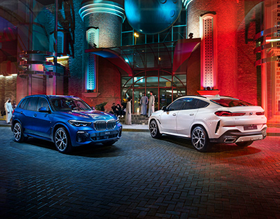 BMW X5 and THE X6