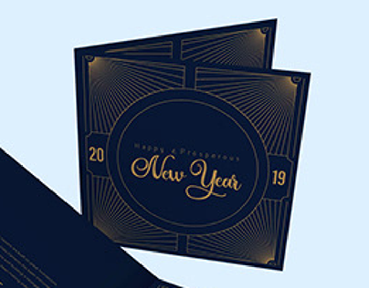 India Cements New Year Greeting Card