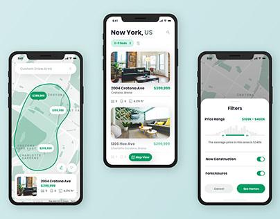Real Estate App - Summary