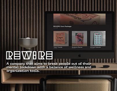 REWIRE - Wellness & Organization System