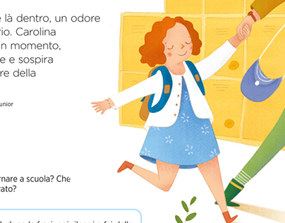 Spot illustrations - Pearson schoolbook