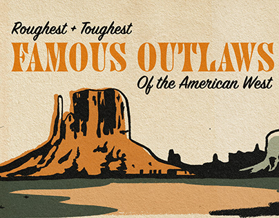 Famous Outlaws Infographic