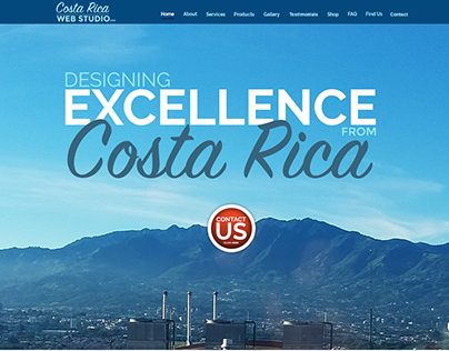 Costa Rica Web Studio - New Mockup