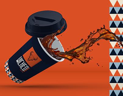 Wicked Coffee Corporate Branding - DMN Creative