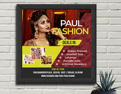 Social Media Promotion Banner Design