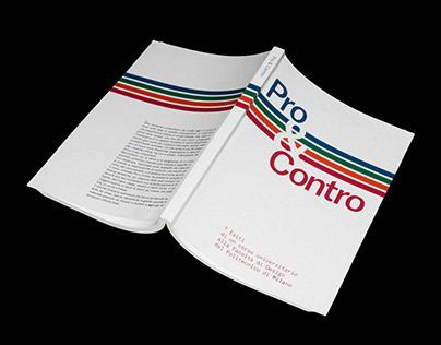 Pro & Contro — Book design (2018)