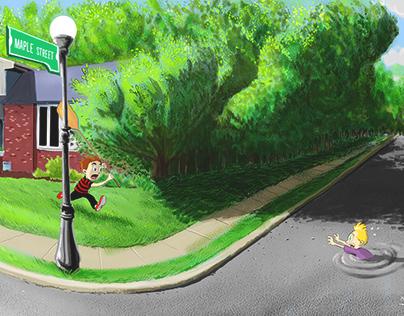 Maple Street - Concept Art