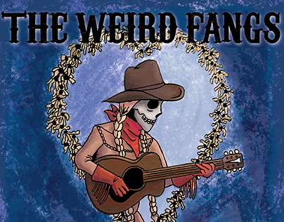 Weird Fangs Branding and Album Design