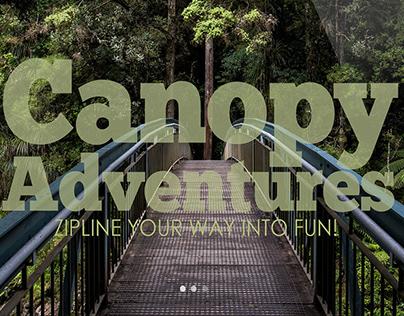 Canopy Adventures Web Design