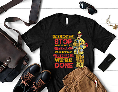 Firefighter T-Shirt Bundle