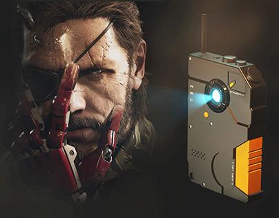 3D Visualization | iDroid, Metal Gear Solid V