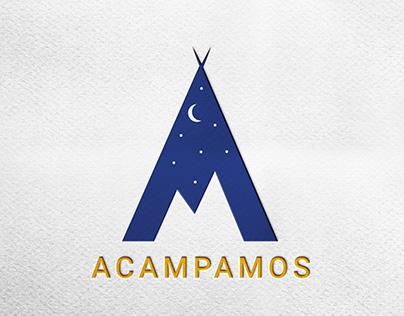 Identidad Visual Corporativa Acampamos.com