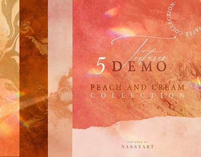 5 FREE PEACH & CREAM TEXTURES