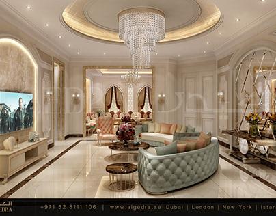 Contemporary Villa Hall Design
