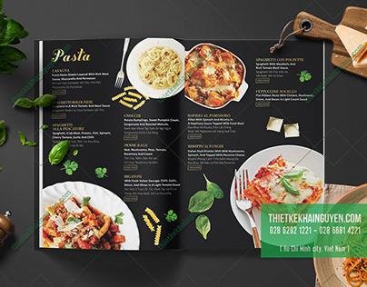 NOCELLO Restaurant Menu Design
