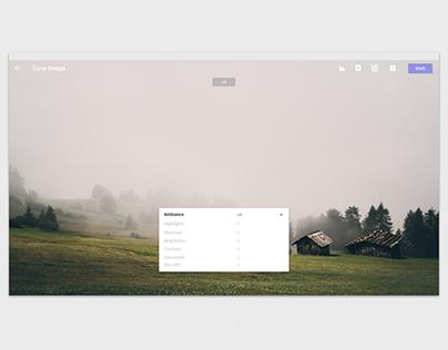 Snapseed Desktop Mockup