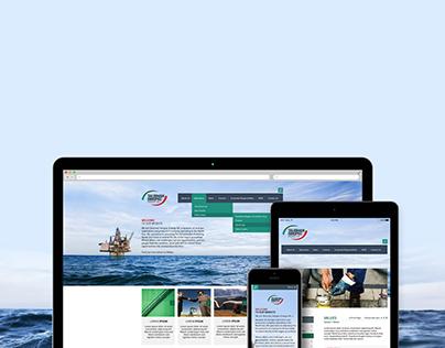 Talisman-Sinopec Responsive website