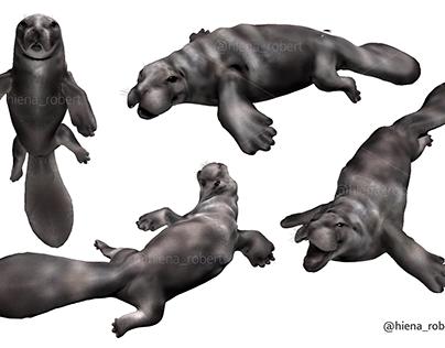 3D character Protosiren