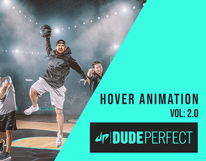 Hover Animation   Dude Perfect   Adobe XD