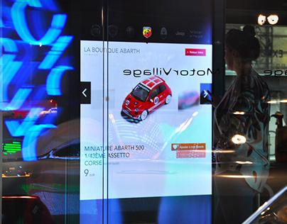 Expérience visuelle • Motor Village Fiat