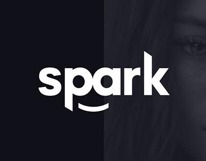 Logo redesign Spark Mediaworks