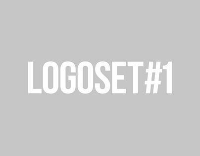 LogoSet#1   Logotypes for corporate design & branding