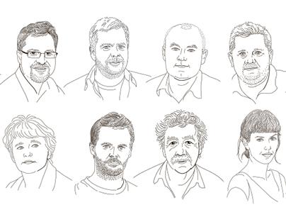 Portreti za časopis / Portraits for newspaper