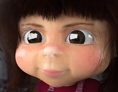 Portrait of my daughter