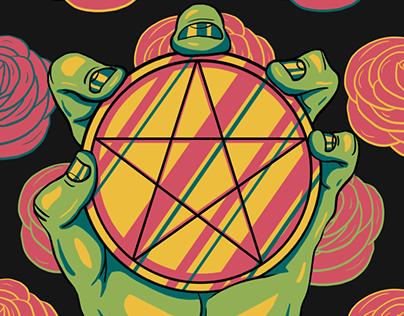 The Prismatic Tarot: Minor Arcana: Pentacles