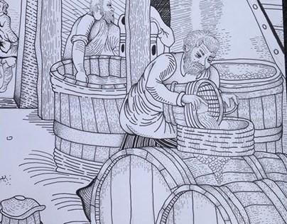 Brewery beer process